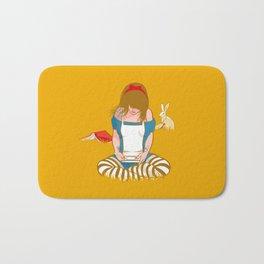 Alice in Mario Land Bath Mat