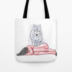 Wolf and I Tote Bag