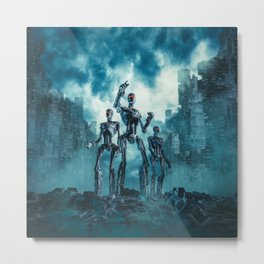The Patrol Metal Print