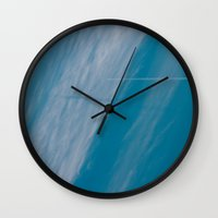 plane Wall Clocks featuring Plane by HMS James