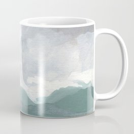 SITKA SOUND 02, Sitka Travel Sketch by Frank-Joseph Coffee Mug