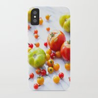tennessee iPhone & iPod Cases featuring Tennessee Tomatoes by Lindsay Landis