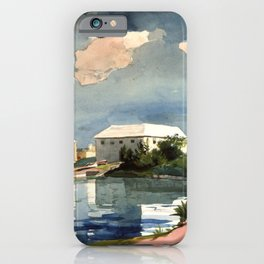 Salt Kettle Bermuda 1899 By WinslowHomer | Reproduction iPhone Case