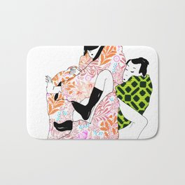 Bodies in boxes Bath Mat