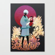 The tale of the Karma Demon Canvas Print