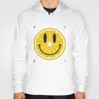 lemon Hoodies featuring Lemon by Pifla