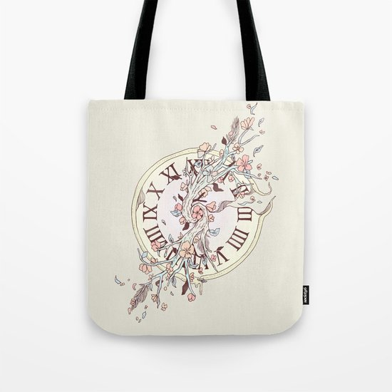 Blossoming Passage Tote Bag