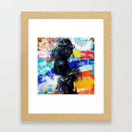 Shadows of Tomorrow Framed Art Print