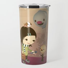 Balloon Tree Song Travel Mug