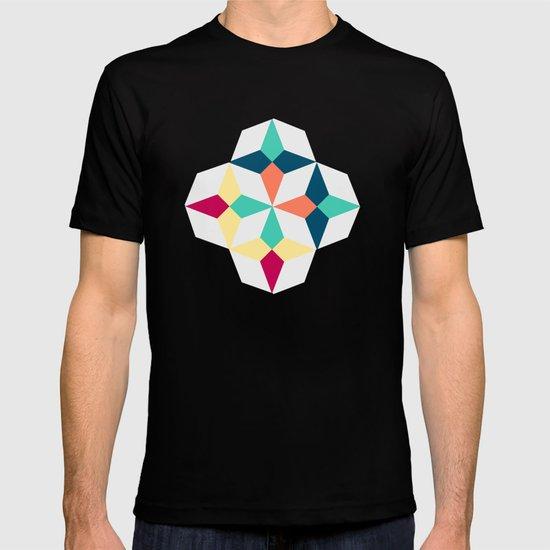 FloralGeometric T-shirt