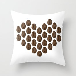 love the brew you're with Throw Pillow