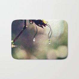 Water Droplets Bath Mat