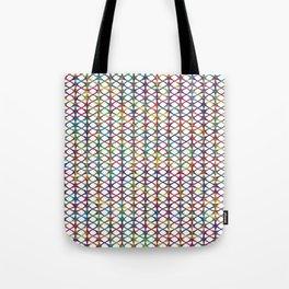 Cuben Rings Tote Bag