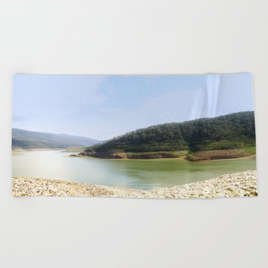 Thomson Reservoir  Beach Towel