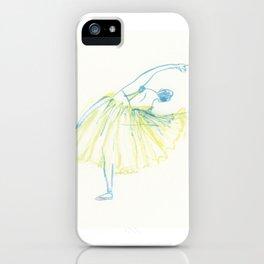 A Ballerina iPhone Case