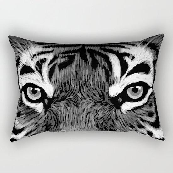 Tiger Painting Rectangular Pillow