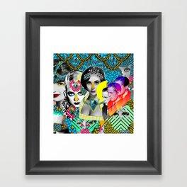Divinas Divas Framed Art Print