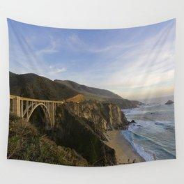 Bixby Bridge at Big Sur Wall Tapestry