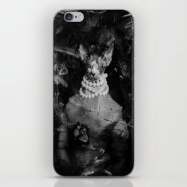Royal sphynx decay iPhone Skin