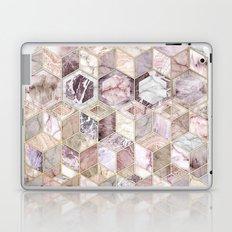 Blush Quartz Honeycomb Laptop & iPad Skin