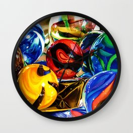Planets and Foil Wall Clock