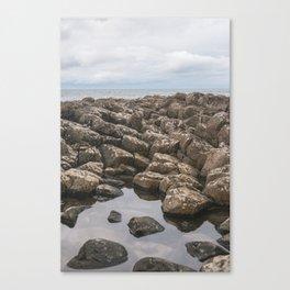 Giants Causeway Reflection Canvas Print