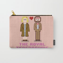 Margot and Richie Tenenbaum 8 bits Carry-All Pouch
