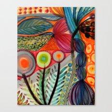 les vivaces Canvas Print