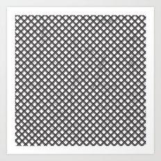 Metal Pattern Art Print