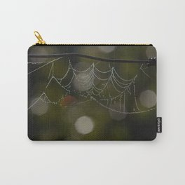 Web Art Carry-All Pouch