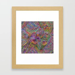 Amphibious Cloud Framed Art Print
