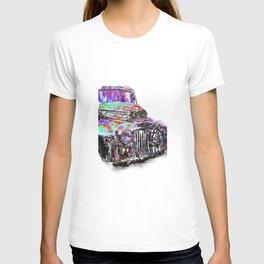 NEON truck series Black T-shirt