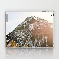 Snowy Mountain Peak in the Sun Laptop & iPad Skin