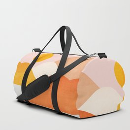 Abstraction_Mountains_Minimalism_001 Duffle Bag