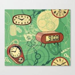 TIC TAC TIME Canvas Print