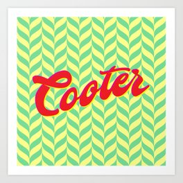Cooter - It's what's for Dinner. Art Print