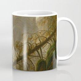 Caspar David Friedrich - Rocky ravine in the Elbe Sandstone Mountains.jpg Coffee Mug