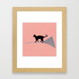Kiki, the Cat Framed Art Print
