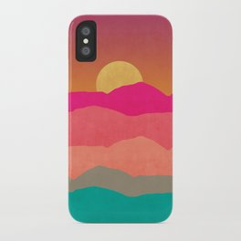Minimal Landscape 13 iPhone Case