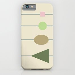 beading || april grass iPhone Case