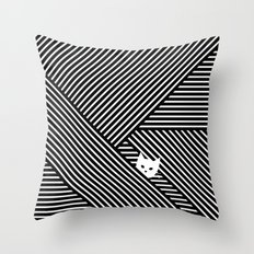 Peak 02 Throw Pillow