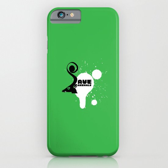 SAVE ANIMALS iPhone & iPod Case