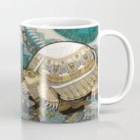 turtle Mugs featuring Turtle by Yuliya