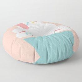 Ice Cream (Peach) Floor Pillow