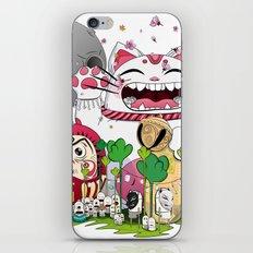 Maneki-neko in the magical world iPhone & iPod Skin