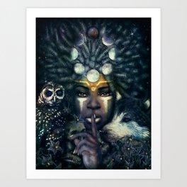 Lesser Light Art Print