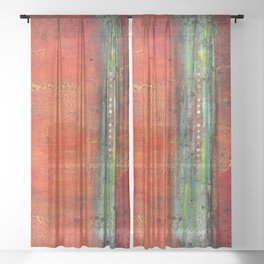 Copper Sheer Curtain
