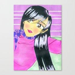 The Emiko Chill Canvas Print
