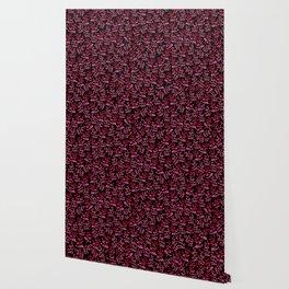Ramitas red & black Wallpaper