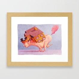 Fart House Framed Art Print